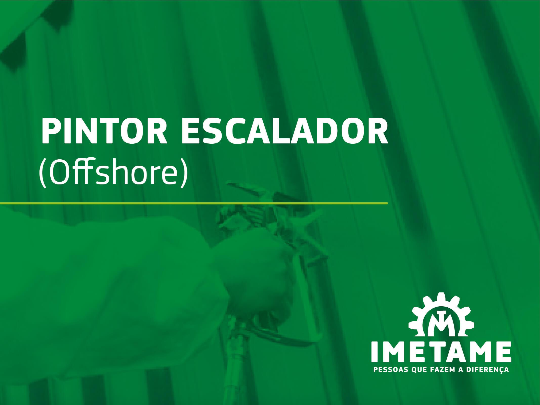 Pintor Escalador – Offshore