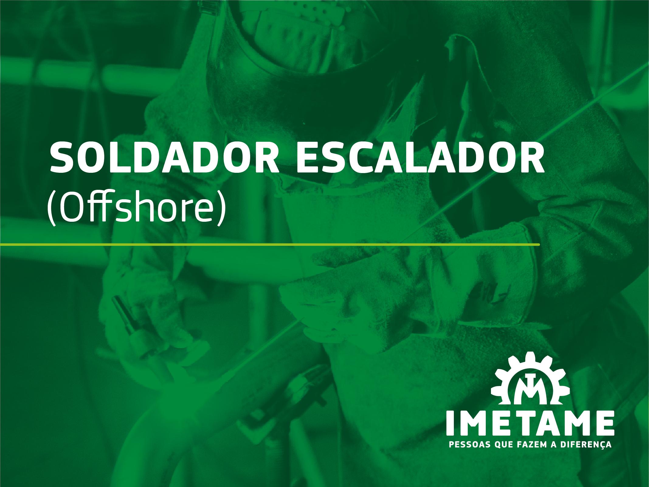 Soldador Escalador – Offshore