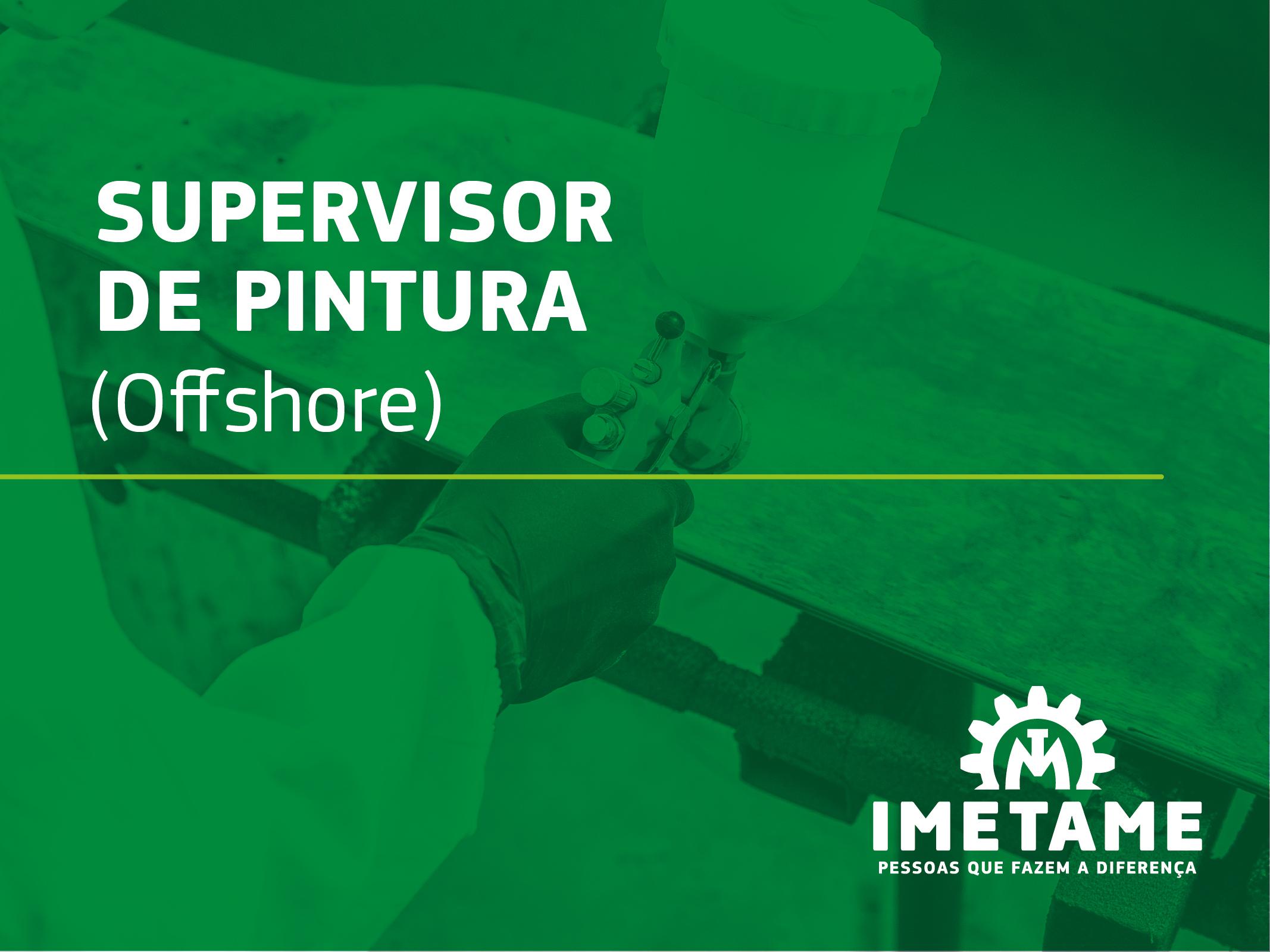 Supervisor de Pintura – Offshore