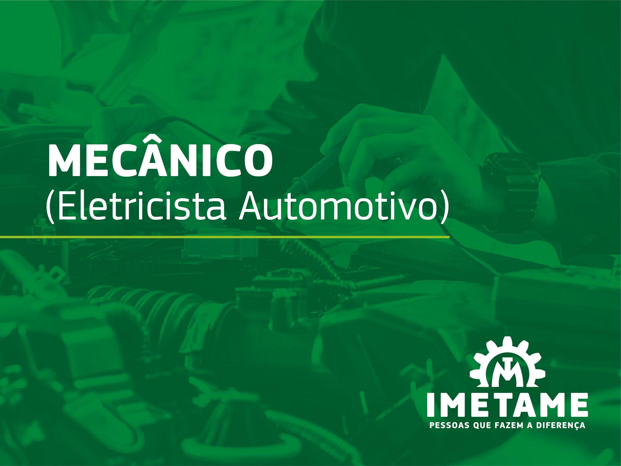Mecânico – Eletricista Automotivo