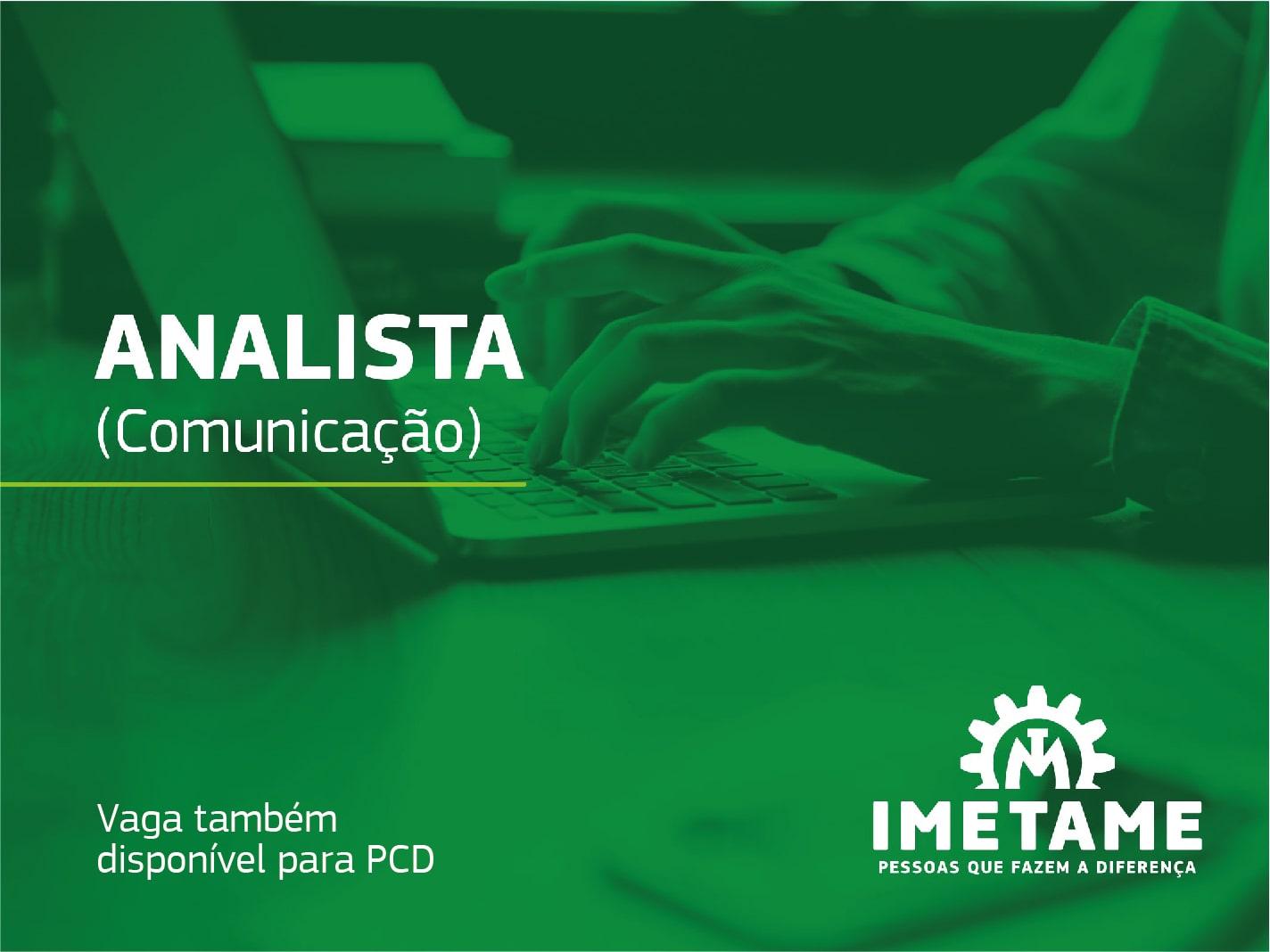 Analista – Comunicação