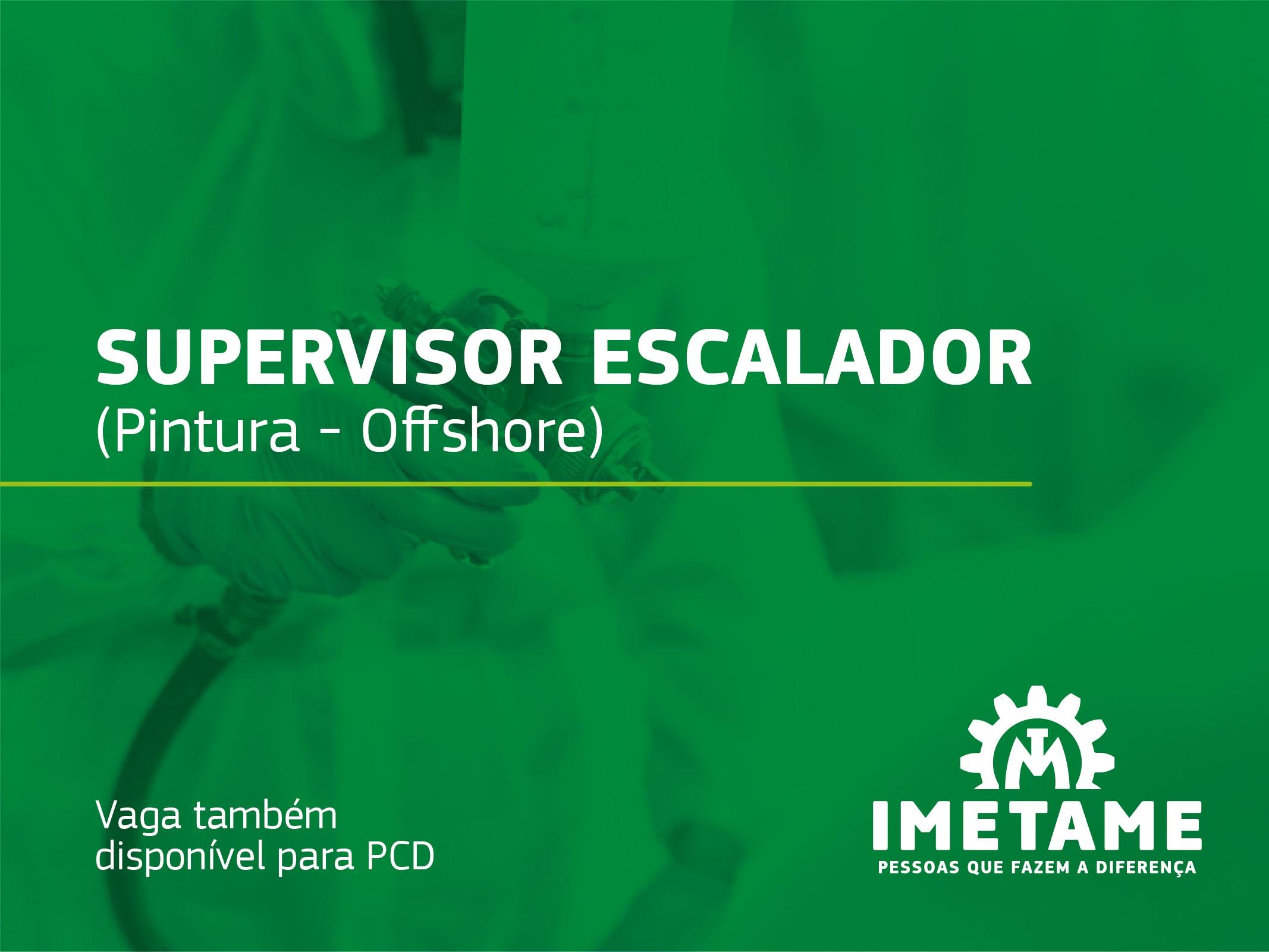Supervisor Escalador (Pintura) – Offshore