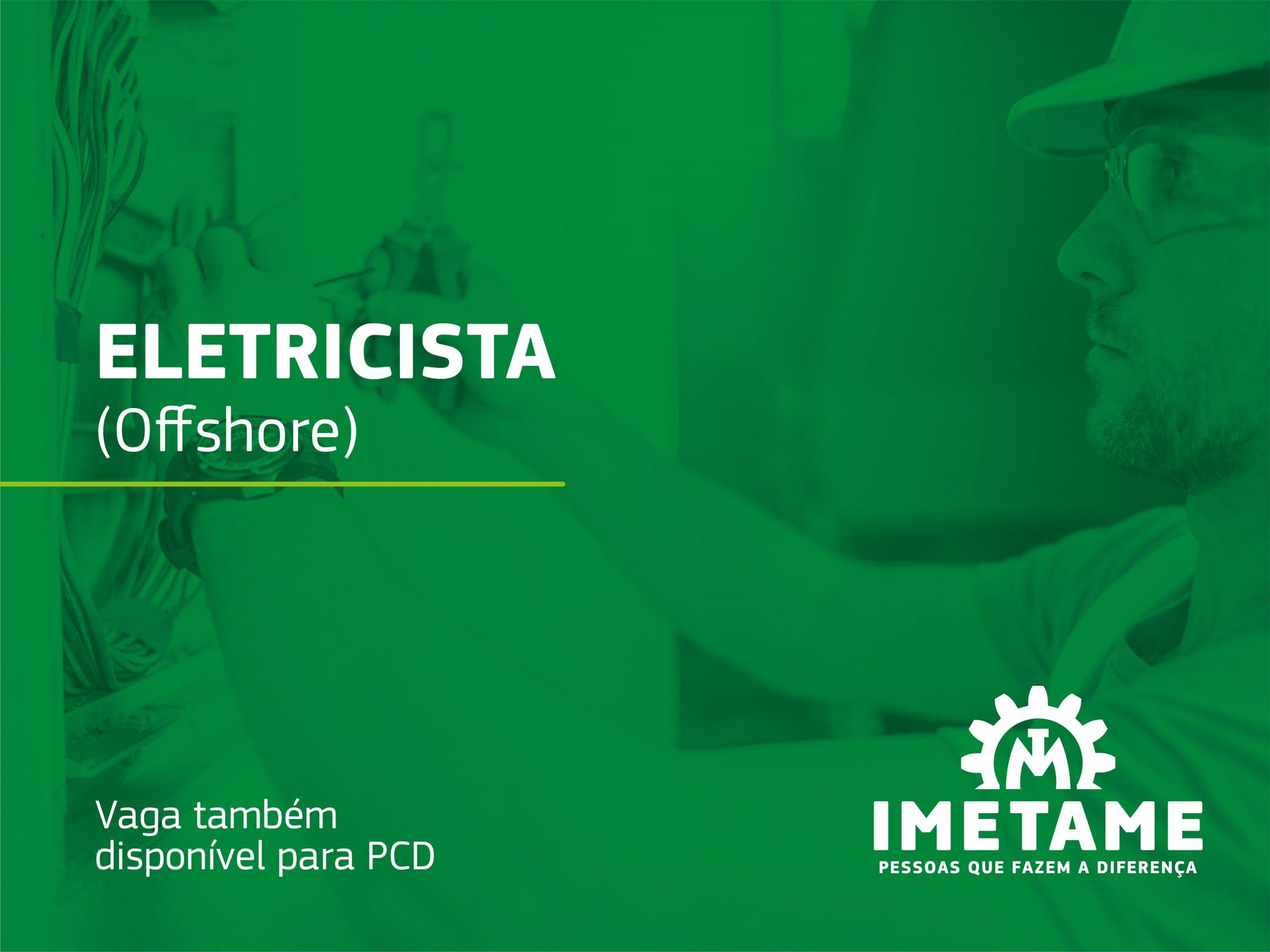 Eletricista – Offshore