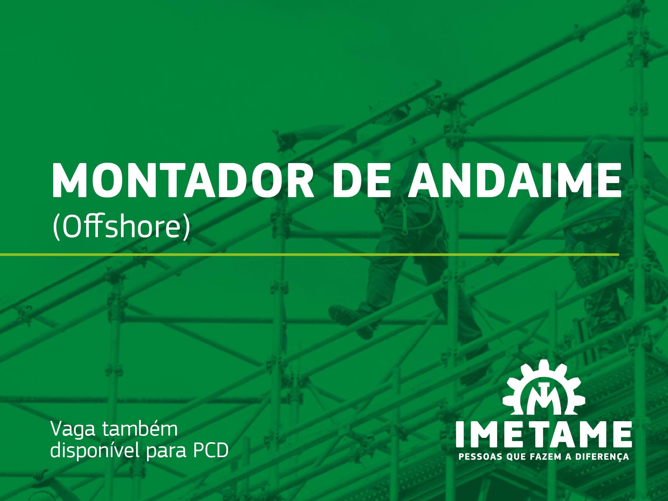 Montador de Andaime – Offshore
