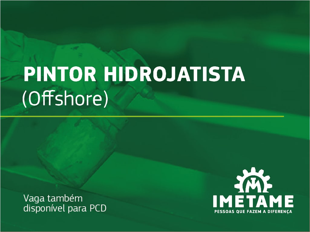 Pintor Hidrojatista – Offshore